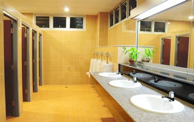 Waschraum-Toiletten